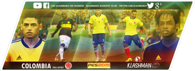 Download Colombia Kit Pack Copa America 2015