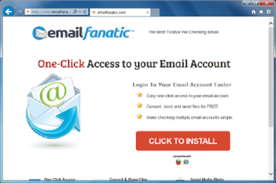 Email Fanatic Toolbar
