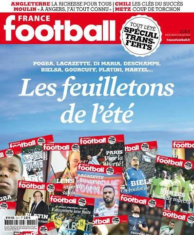 France Football 3611 - du mercredi 08 juillet 2015