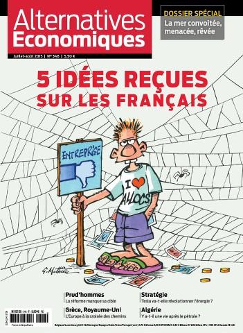 Alternatives Economiques 348 - Juillet-Aout 2015