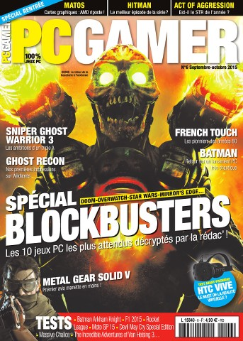 PC Gamer 6 - Septembre-Octobre 2015