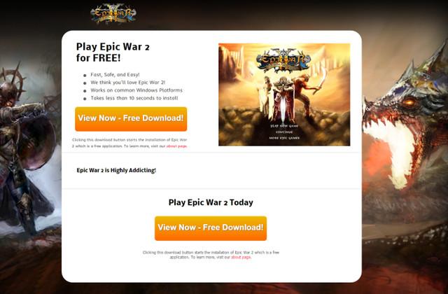 Reklamy Epic War 2