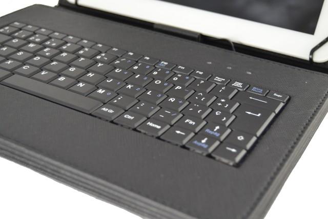 Copertura con tastiera per tablet samsung galaxy tab a 9 7 550 rimovibile ebay - Tastiera del letto ...
