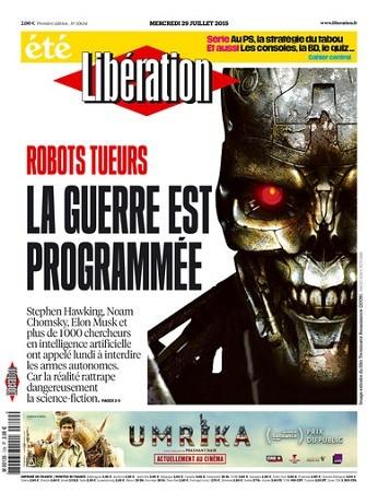 Liberation Du Mercredi 29 Juillet 2015