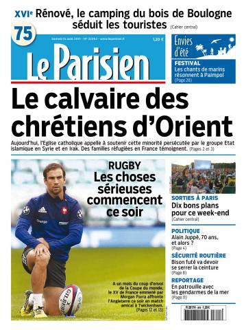 Le Parisien + Journal de Paris du Samedi 15 Août 2015