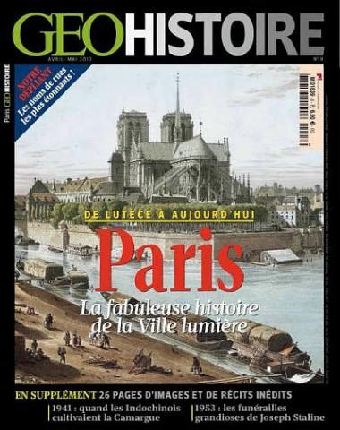 Géo Histoire 8 - Paris de Lutèce à aujourd'hui
