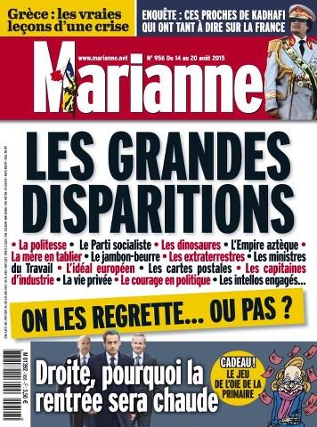 Marianne 956 - 14 au 20 Aout 2015