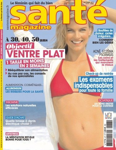 Santé magazine 477 - Septembre 2015