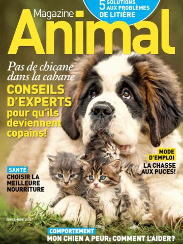 Magazine Animal – Septembre 2015