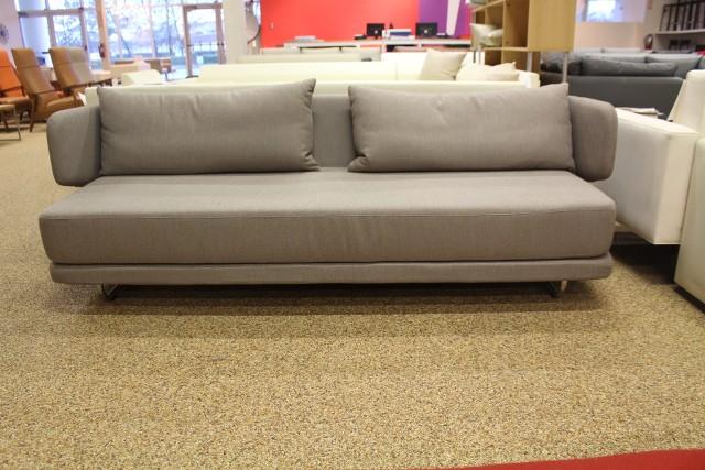 Bay sleeper sofa mushroom modern dwr design within reach for Design within reach sleeper sofa