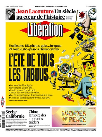 Liberation WEEK-END - Samedi 18 et Dimanche 19 Juillet 2015
