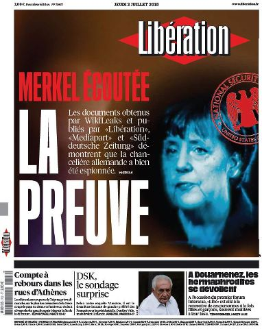 Libération du Mercredi 2 Juillet 2015