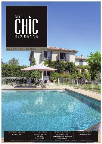 My Chic Residence - Juillet-Août 2015