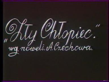 itMsMU Andrzej Wajda   Zly chlopiec AKA The Bad Boy (1950)