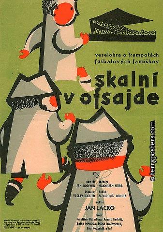 rdeu Ján Lacko   Skalni v ofsajde aka Soccer Fans (1960)