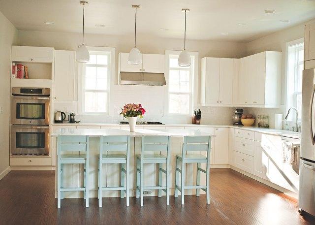 Our all white Ikea kitchen!