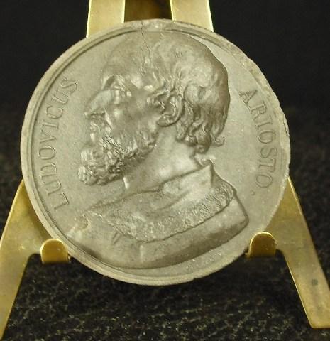Médaille Ludovico Ariosto dit l'Arioste poète italien