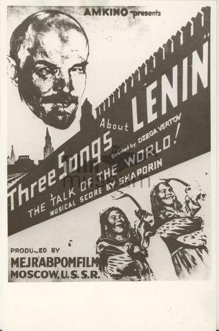 h2w86 Dziga Vertov   Tri pesni o Lenine AKA Three songs about Lenin (1934)