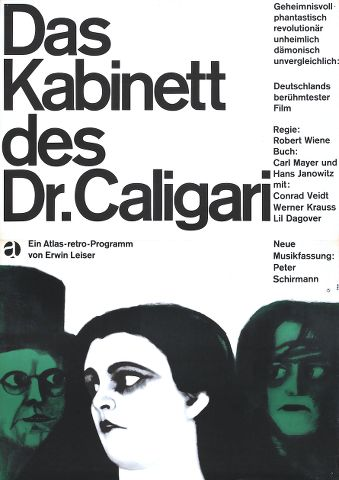 pe9c2 Robert Wiene   Das Cabinet des Dr. Caligari AKA The Cabinet of Dr. Caligari [2014 Restored Version] (1920)
