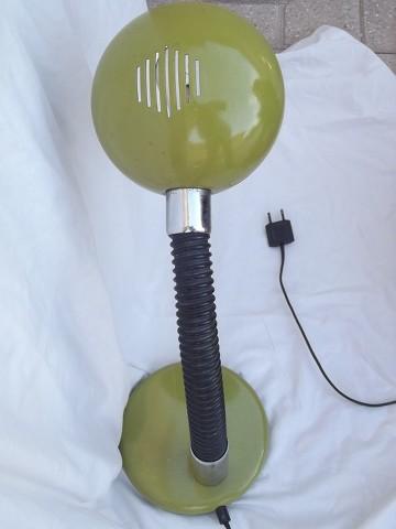 Lampada da tavolo gamma lux anni 70 space vintage epoca verde da studio terra ebay - Lampada da tavolo vintage ebay ...