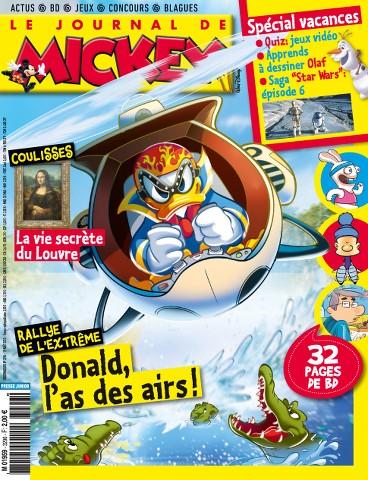 Le Journal de Mickey 3296 - 19 au 25 Août 2015