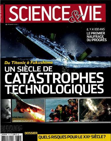 Science et vie Hors Série 34 - un siécle de Catastrophes Techniques