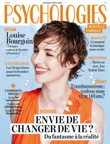 Psychologies Magazine 353 - Juillet 2015