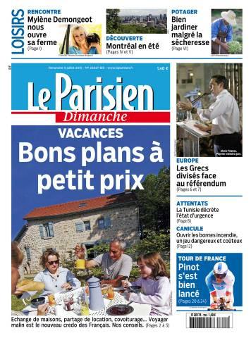 Le Parisien + Guide de votre dimanche du 5 juillet 2015
