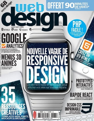 Web Design Magazine 68 - Août-Septembre 2015