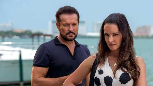 Arturo Peniche y Alejandra Barros