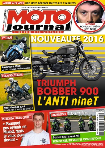 Moto Journal 2154 - 9 au 15 Juillet 2015