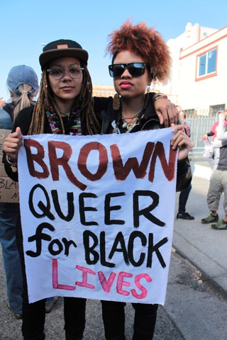 BrownandQueer4BlackLives