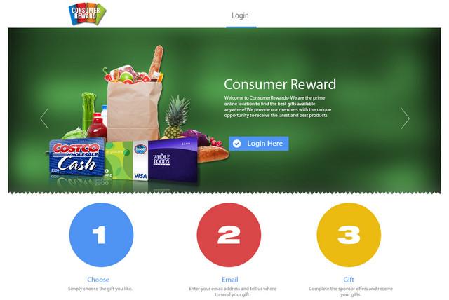 Consumerreward.net