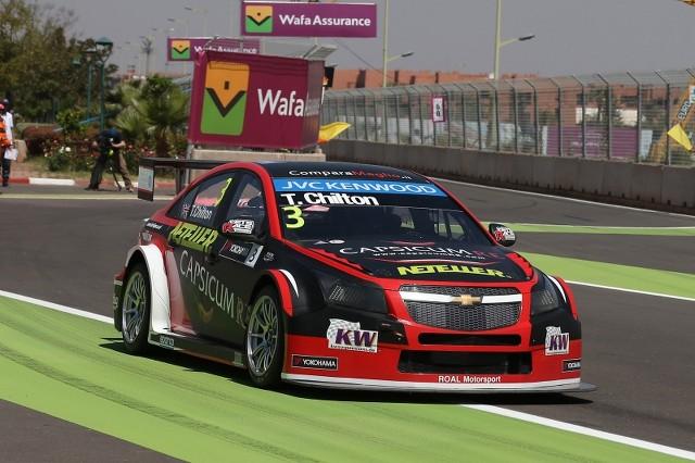 Tom Chilton WTCC Morocco