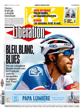 Liberation Du Lundi 27 juillet 2015