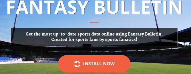 Fantasy Bulletin Ads