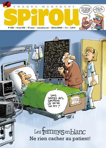 Le Journal de Spirou 4035 - 12 au 18 Août 2015