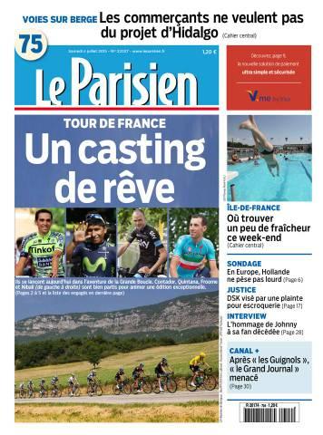 Le Parisien + Journal de Paris du Samedi 4 Juillet 2015