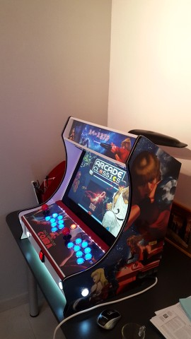 borne arcade cobra
