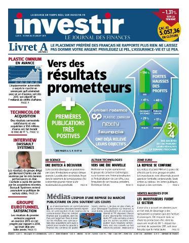 Investir - 24 Juillet 2015
