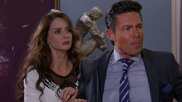 Otra de las escenas de la telenovela Pasión y poder