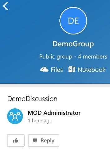 Office Groups iOS