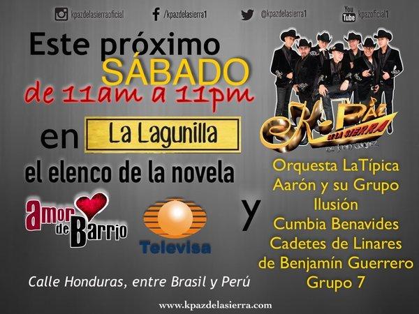 """""""Amor de Barrio"""" festejará a la gente de la Lagunilla"""