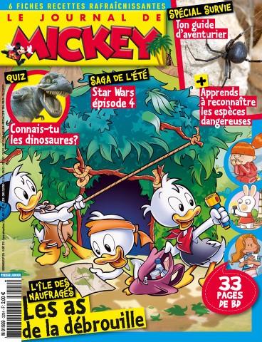 Le Journal de Mickey 3294 - 5 au 11 Août 2015