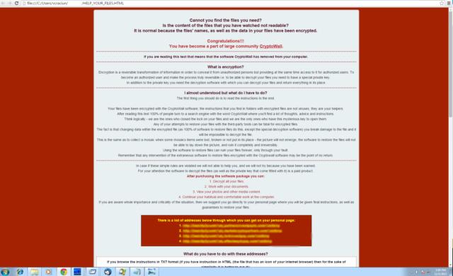 CryptoWall 4.0