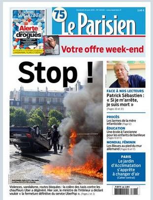 Le Parisien du vendredi 26 juin 2015