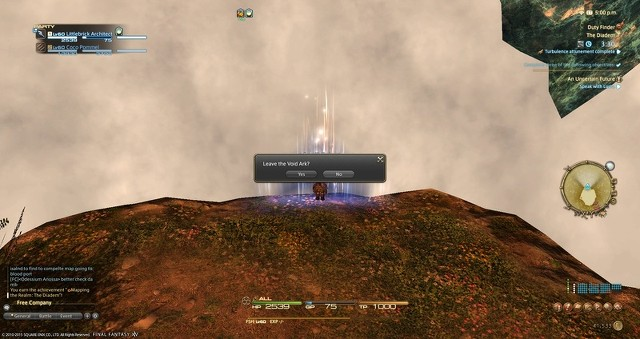 Void ark leave box in Diadem
