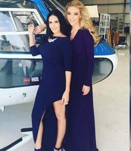 Fernanda Castillo y  Ximena Herrera vuelan sobre el D.F