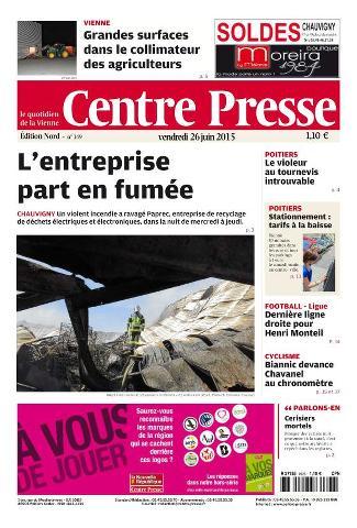 Centre Presse - 26 Juin 2015