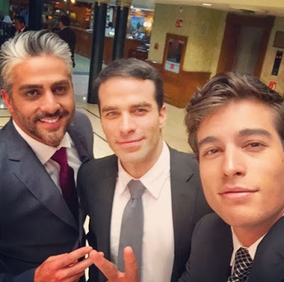 Galanes de la telenovela Pasión y poder